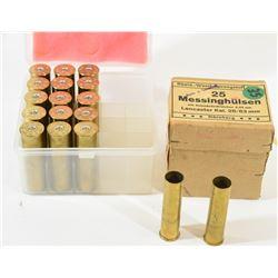 Brass Shotgun Casings