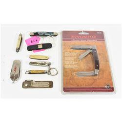 Box Lot Pocket Knives