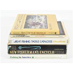 Fishing & Canoeing Books
