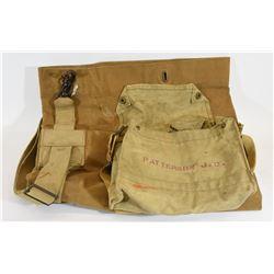 Canvas Duffle Bag & Shoulder Bag