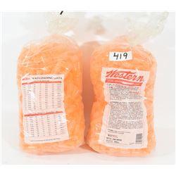 1000 Pieces Western 12Ga Orange Wads