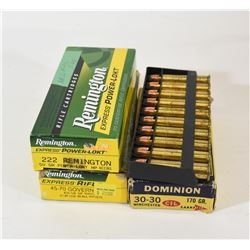 Box Lot Mixed Ammo