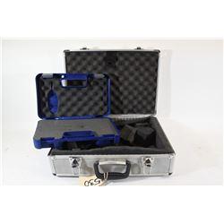 Aluminum Pistol Box and S&W 22A Case