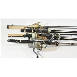 Five Rods and Reels