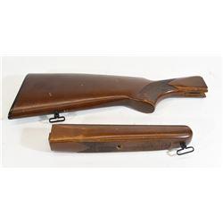 wooden Stock & Forearm