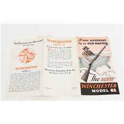 Winchester Model 62 Brochure