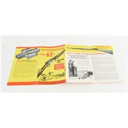Winchester Model 62A Brochure