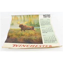 Winchester Calendar 1978