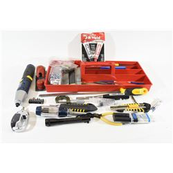 Variety of Tools in Toolbox