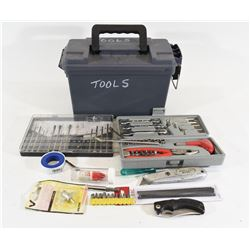 Variety of Tools in Two Toolboxes
