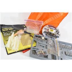 Dremel Tool Bits, Sand Paper & Glue Sticks