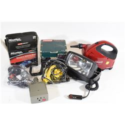 Box Lot 12 Volt Equipment