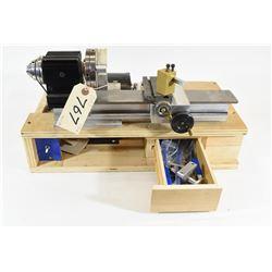 Homemade Mini Lathe and 120V Electric Motor