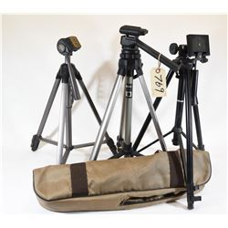 Three Camera Stands