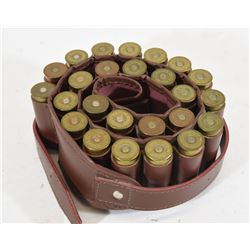 "25 Rnds 12Ga x 2 3/4"" Shotshells in Ammo Belt"