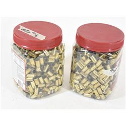 1200 Pces 9mm Brass