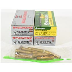 Four Boxes 30-30 Win Factory Ammo