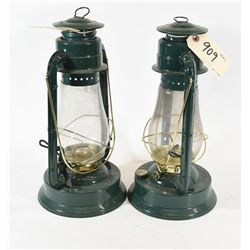 Dietz Blizzard Oil Burning Lantern (Green)