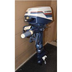 1977 6HP Evinrude Outboard with Tank