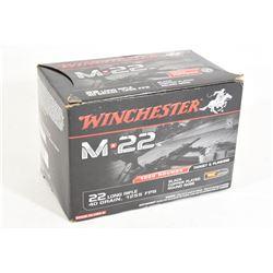22LR Factory Ammo