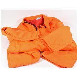 Blaze Orange Coveralls