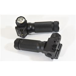 FireField's Red Laser Flashlight Foregrip