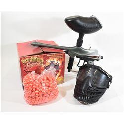 Paintball Gun & Paintballs