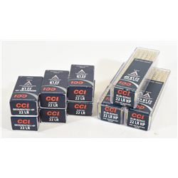 Lot of 600 rounds of 22LR Factory Ammo