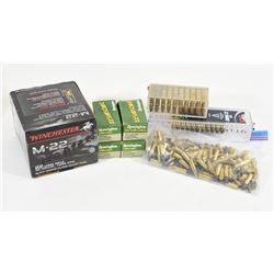 Lot of approximately 480 rounds of 22LR Ammo
