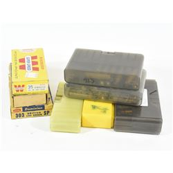 Vintage Ammo and Cases