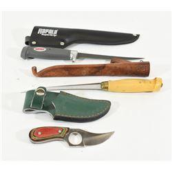 Box Lot of knives