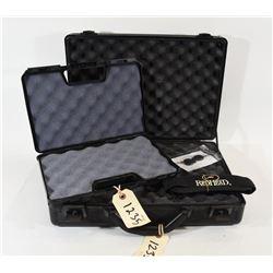 2 Hard side pistol cases