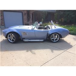 4:00PM SATURDAY FEATURE 1965 FACTORY FIVE MK SHELBY ROADSTER