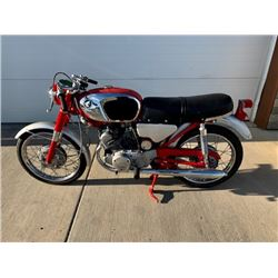 EXCLUSIVE MOTORCYCLE COLLECTION NO RESERVE 1964 HONDA CB125 HIGHLY DESIRABLE AND RARE STUNNING ORIGI