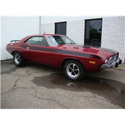 1973 DODGE CHALLENGER 340 4BBL