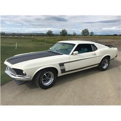 1:00PM SATURDAY FEATURE 1969 MUSTANG BOSS 302
