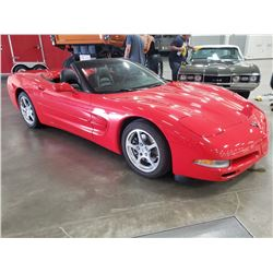 FRIDAY NIGHT 2001 CHEVROLET CORVETTE CONVERTIBLE
