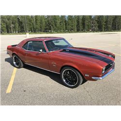 3:30PM SATURDAY FEATURE! STUNNING! 1968 CHEVROLET CAMARO SS