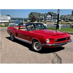 4:30PM SATURDAY FEATURE REAL DEAL 1968 SHELBY GT350 CONVERTIBLE PAXTON SUPERCHARGED