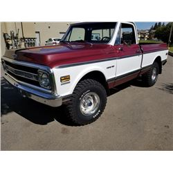 1972 CHEVROLET CST 4X4 SHORT BOX REAL DEAL DOCUMENTED SHORTY