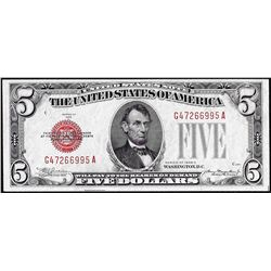 1928C $5 Legal Tender Note