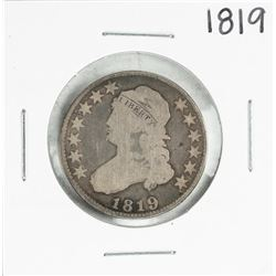 1819 Capped Bust Quarter Coin