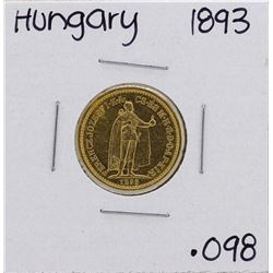 1893KB Hungary 10 Korona Gold Coin