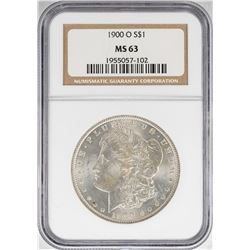 1900-O $1 Morgan Silver Dollar Coin NGC MS63