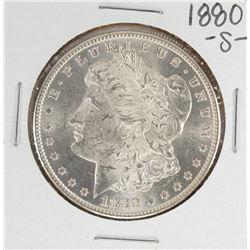1880-S $1 Morgan Silver Dollar Coin