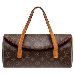 Louis Vuitton Monogram Canvas Leather Sonatine Bag