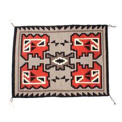 Navajo Ganado Wool Rug by Grace Redmustache 1950's