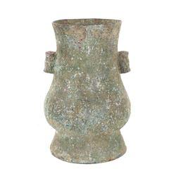 Early Mayan Copper Vessel
