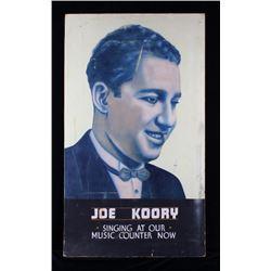 Early Billings Joe Koory Fratt Advertisment