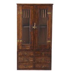 Salesman Sample Oak Mercantile Sideboard Cabinet